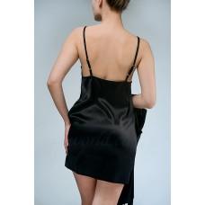 Сорочка ночная с кружевом  IMATE «Шик» черный арт. 1032