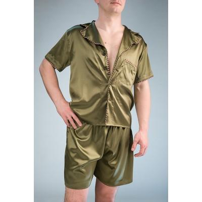IMATE модный шелковый комплект с шортами «Вашингтон» арт. 1070