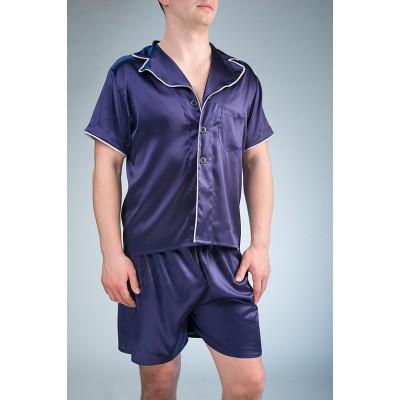 IMATE шелковая пижама с шортами «Крис» арт. 1071