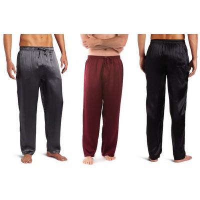 Домашние шелковые брюки