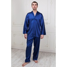 Пижама из натурального шелка IMATE  «Radison» синий