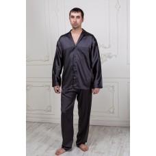 Пижама мужская шелковая IMATE  «Radison» графит