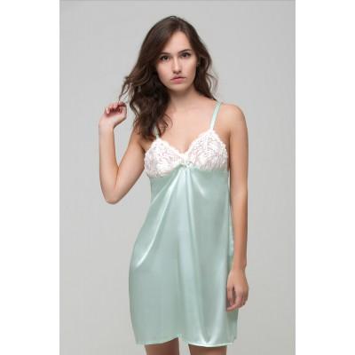Сексуальная ночная сорочка , натуральный шелк