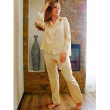 Комплект  с брюками  «Жосефин» золотистый беж арт. 3396