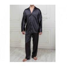 Пижама мужская с брюками  графит