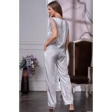 Комплект с брюками шелковый
