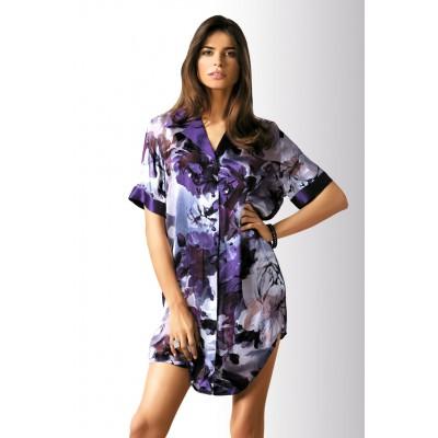 Marc&Andre рубашка шелк (фиолетовый) арт.145888