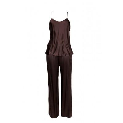 Imate пижама с брюками (коричневая) арт. A3300