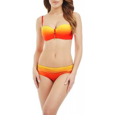 купить яркий оранжевый верх купальника