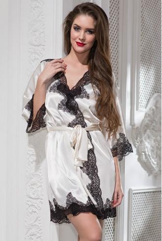 шелковый халат миа-миа